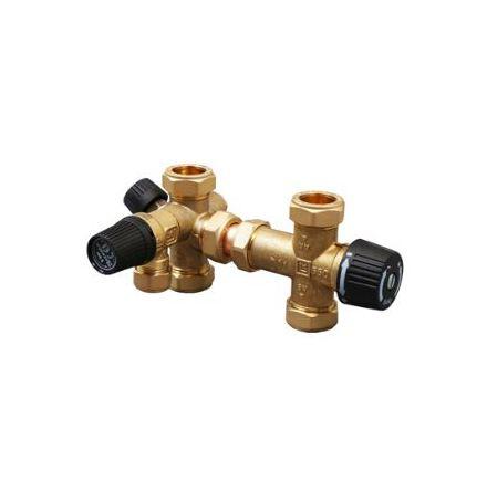 Blandar/säkerhetsventil CU 22 För OSO Cubix 200 och 300 l. varmvattensberedare.