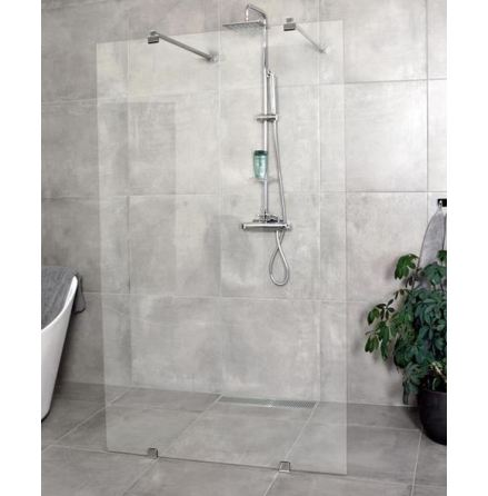 Royal Bath SKÄRMVÄGG FRISTÅENDE Klarglas