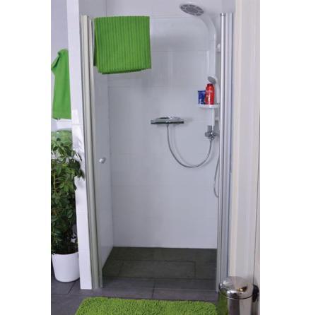 Cabinex Nisch svängbara duschdörrar modell CW1