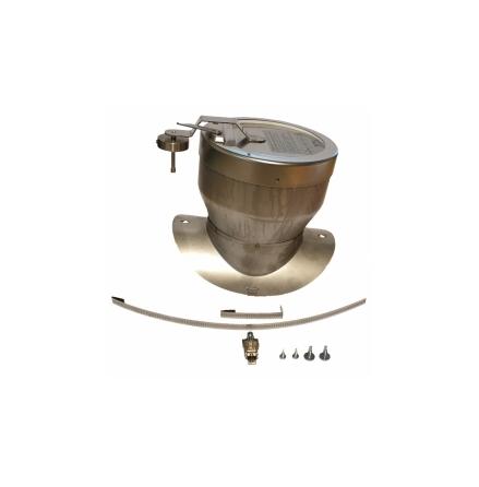 Dragstabilisator för rökrör diameter 150mm (ny modell), Baxi