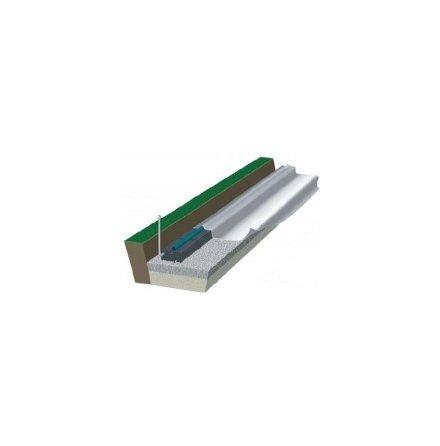 Baga Geomembran LDPE 0,5mm 6x13 Tät Markbädd