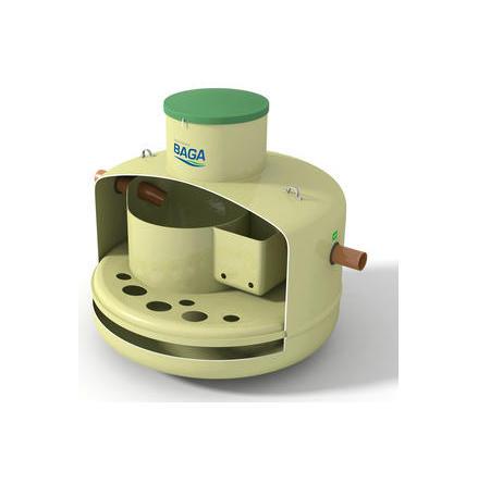 Baga Slamavskiljare BDT med integrerad pumpbrunn