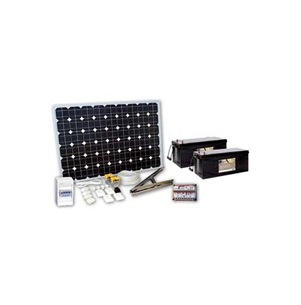 Solpanelspaket 200W Basic