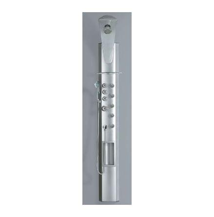 Demerx Duschpanel Silver - utan termostat