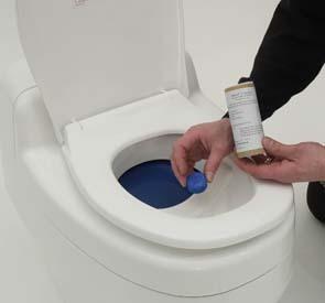 Avloppsrengöring för urineseparering