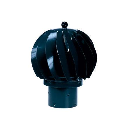 Vindfläkt 110 mm svart