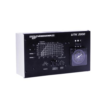 UTK2000 Utomhuskompensator med ute- & framledningsgivare till NG samt MP4 (Beställningsvara)